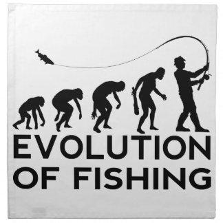 evolution of fishing napkin