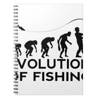 evolution of fishing notebooks