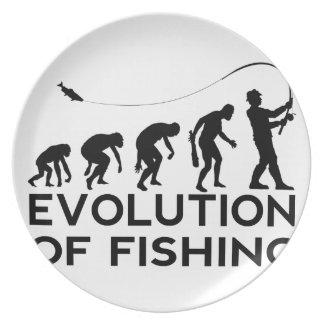 evolution of fishing plate