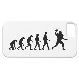 Evolution of Football iPhone 5 Case