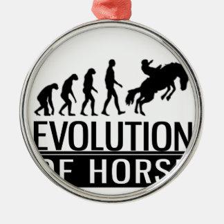 evolution of horse metal ornament