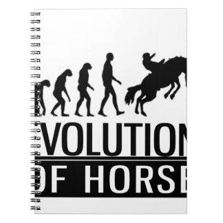 evolution of horse notebooks