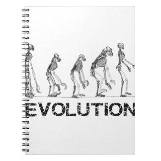 evolution of hymen spiral notebook