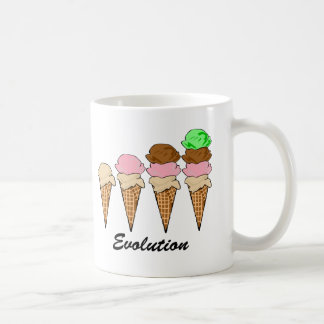 Evolution of Ice Cream Coffee Mug