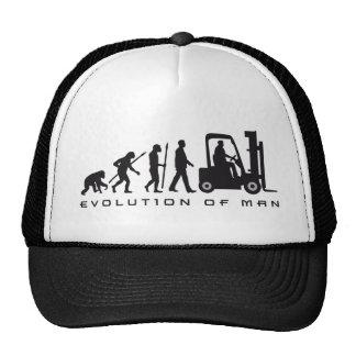 evolution of man forklift driver kappe