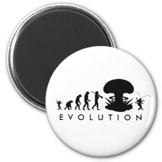 Evolution of Man - Rise of the Cockroach Fridge Magnets