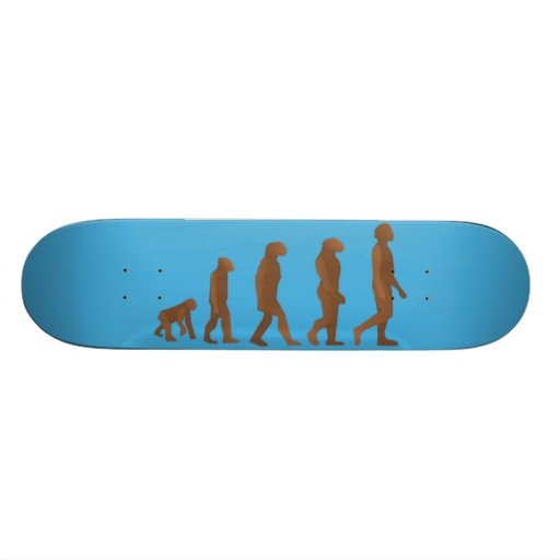 Evolution of Man Skateboard