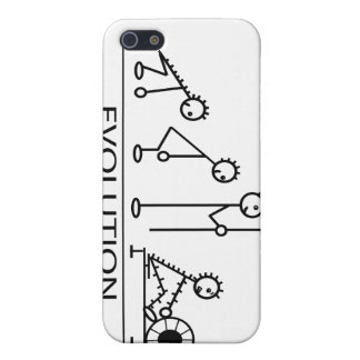 Evolution of man with rowing iPhone 5/5S cover