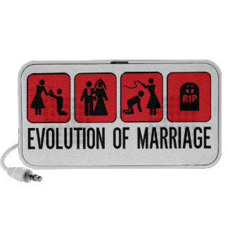 Evolution of Marriage Portable Speakers
