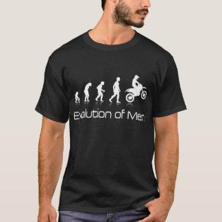 Evolution of Men- Dirtbike Motocross T'shirt T-Shirt