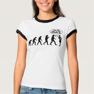 Evolution Of Men & Women Pepper Spray T-Shirt