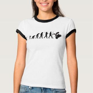 Evolution of moto T-shirt for women