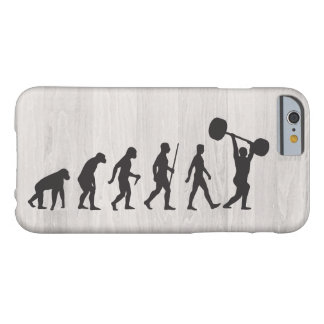 Evolution of Muscle Man Barely There iPhone 6 Case