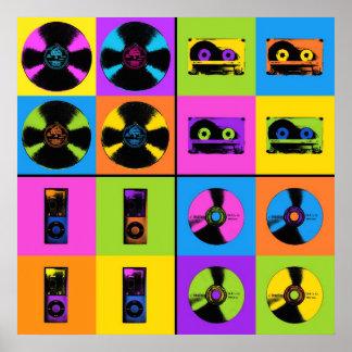Evolution of Music Poster