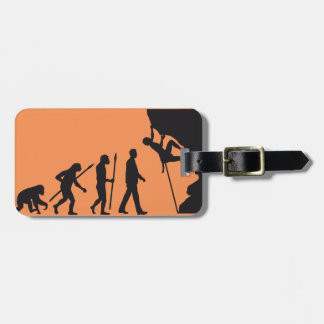 evolution OF one climbing Luggage Tag