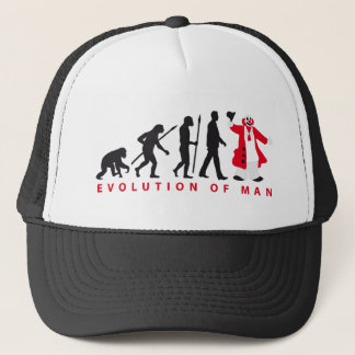 evolution OF one clown Trucker Hat
