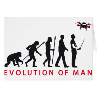 evolution OF one controlling drone Card