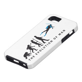 evolution OF one diving sport Tough iPhone 5 Case