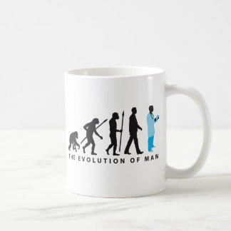 evolution OF one doctor OF medicine physician Coffee Mug