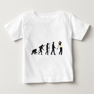 Evolution OF one gulf more player Baby T-Shirt