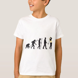 Evolution OF one gulf more player T-Shirt