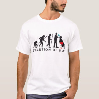 evolution OF one hair stylist T-Shirt
