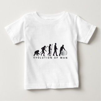 evolution OF one harbour more worker rolling A Baby T-Shirt