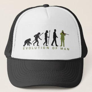 Evolution OF one more hunter Trucker Hat