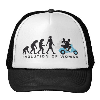 evolution OF one wedding more scooter Cap