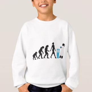evolution OF one woman pharmacist Sweatshirt