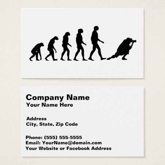 Evolution of Photography 1 Amazing Business Card