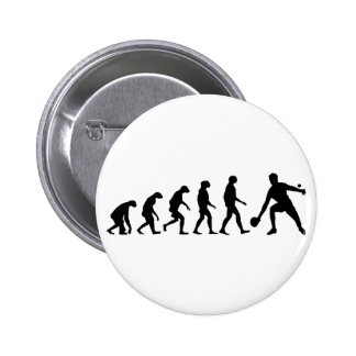 Evolution of Ping Pong 6 Cm Round Badge