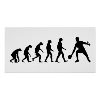Evolution of Ping Pong Poster