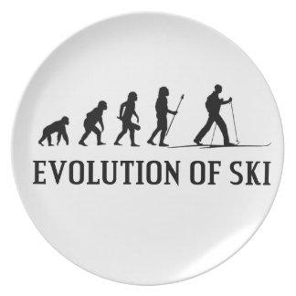 Evolution Of Ski Plate