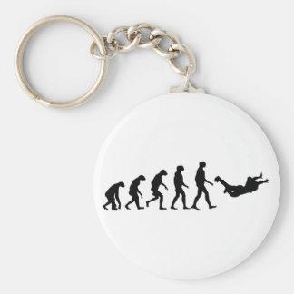 Evolution of Skydiving Keychain