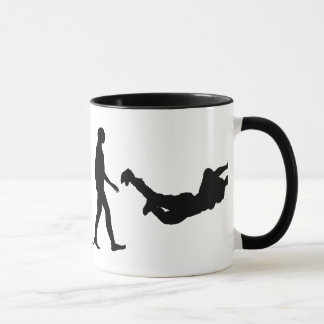 Evolution of Skydiving Mug