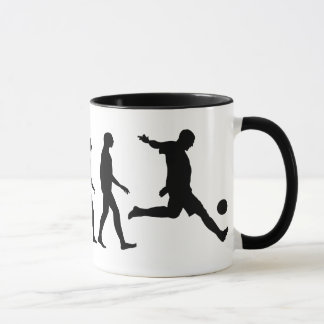Evolution of Soccer Mug