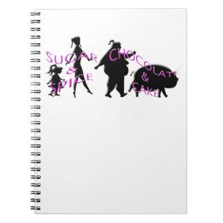 evolution of sweetness notebook