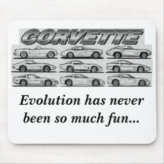 Evolution of the Corvette Mouse Pad