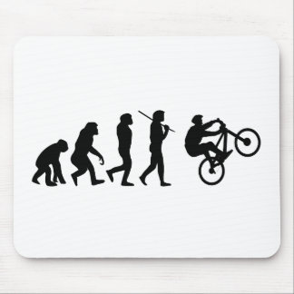 Evolution of the cyclist mouse pad