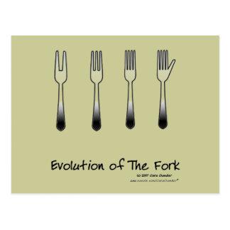 Evolution of The Fork Postcard