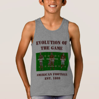 Evolution of the Game--American Football Singlet