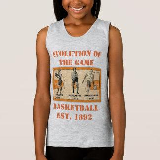 Evolution of the Game--Basketball Singlet