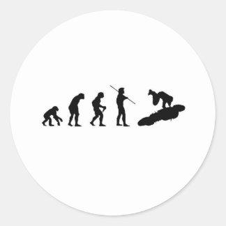 Evolution of the Highside Sticker