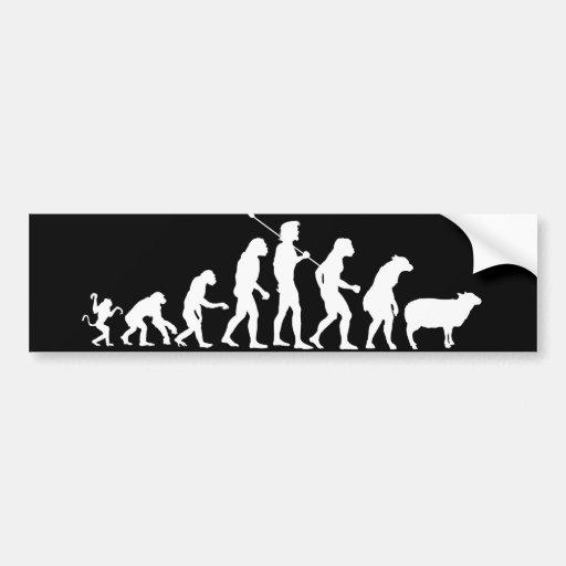 Evolution of the Masses Bumper Sticker