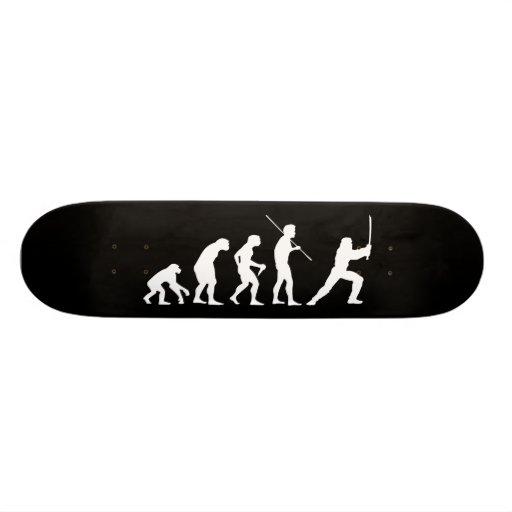 Evolution of the Ninja - from man to ninja Skate Boards