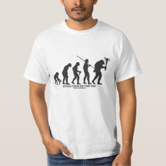 Evolution of the Orc T-Shirt