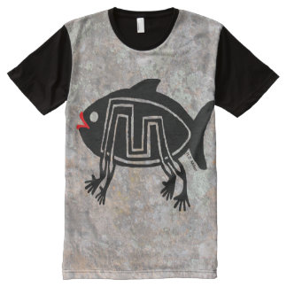 Evolution of the Species All-Over Print T-Shirt