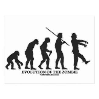 Evolution of the Zombie Postcard