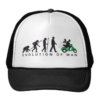 evolution OF woman wedding more scooter Cap
